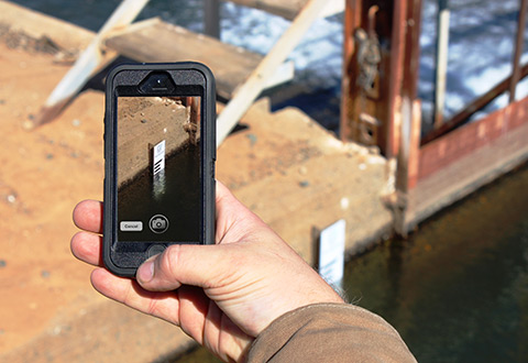 Measure Water with a Single Click
